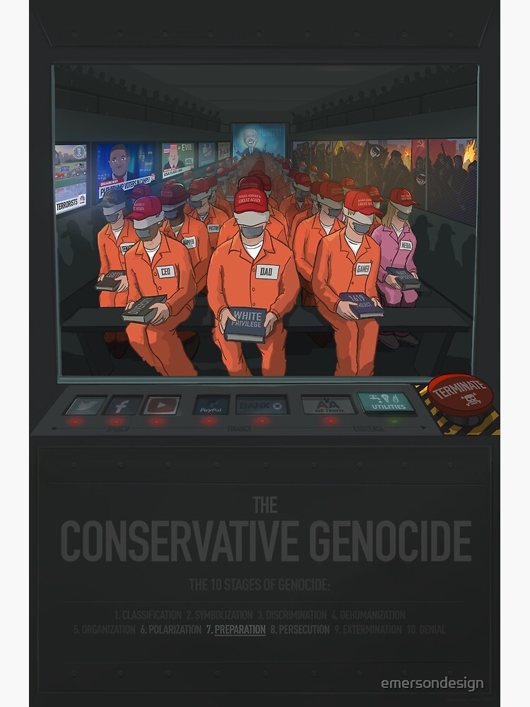 The Conservative Genocide by emersondesign