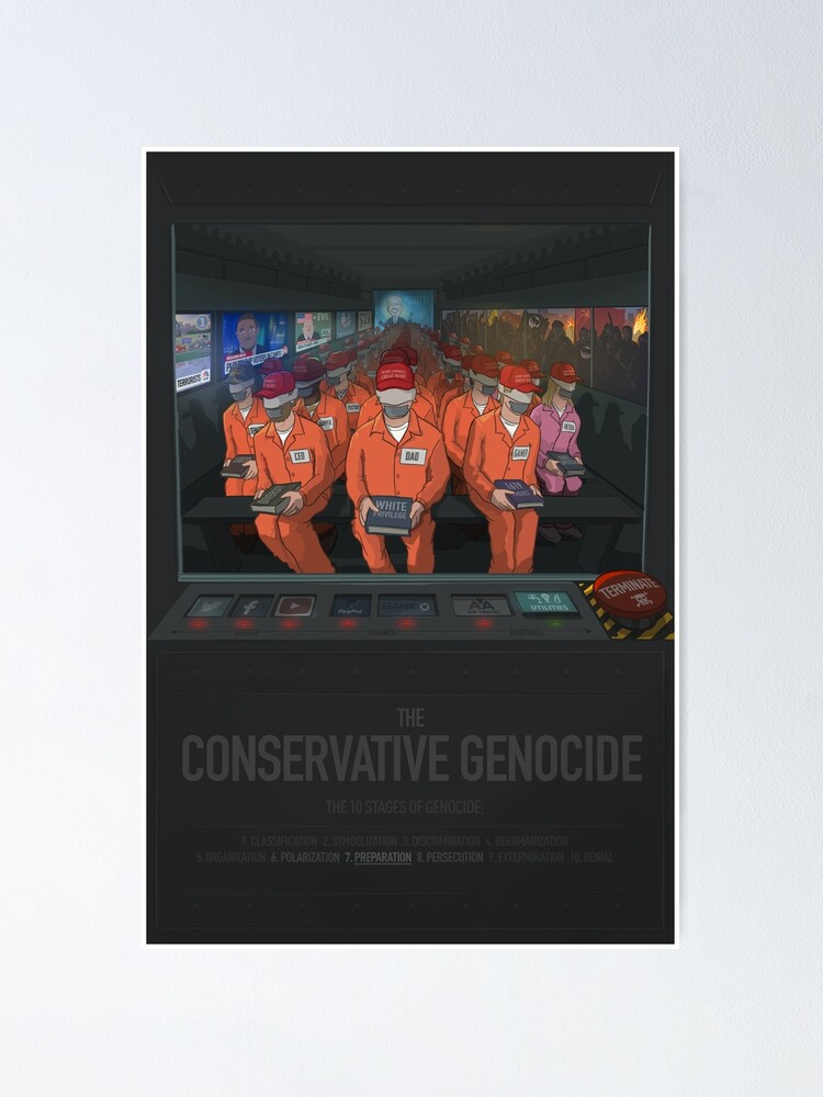 Alternate view of The Conservative Genocide Poster