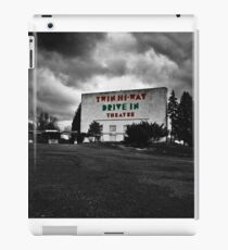 Drive-In Theater Selective Color I iPad Case/Skin