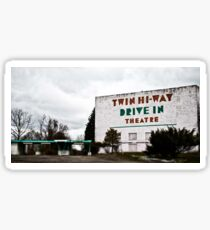 Drive-In Theater TiltShift Sticker