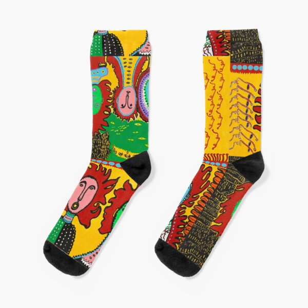Yayoi Kusama Art 5 Socks