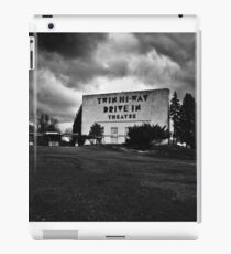Drive-In Theater B&W iPad Case/Skin