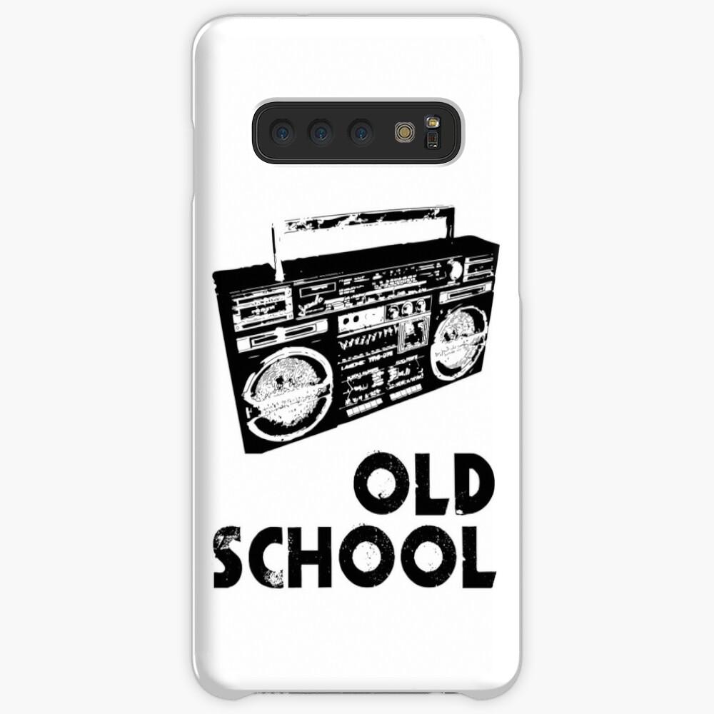 Old School - Boom Box  Case & Skin for Samsung Galaxy