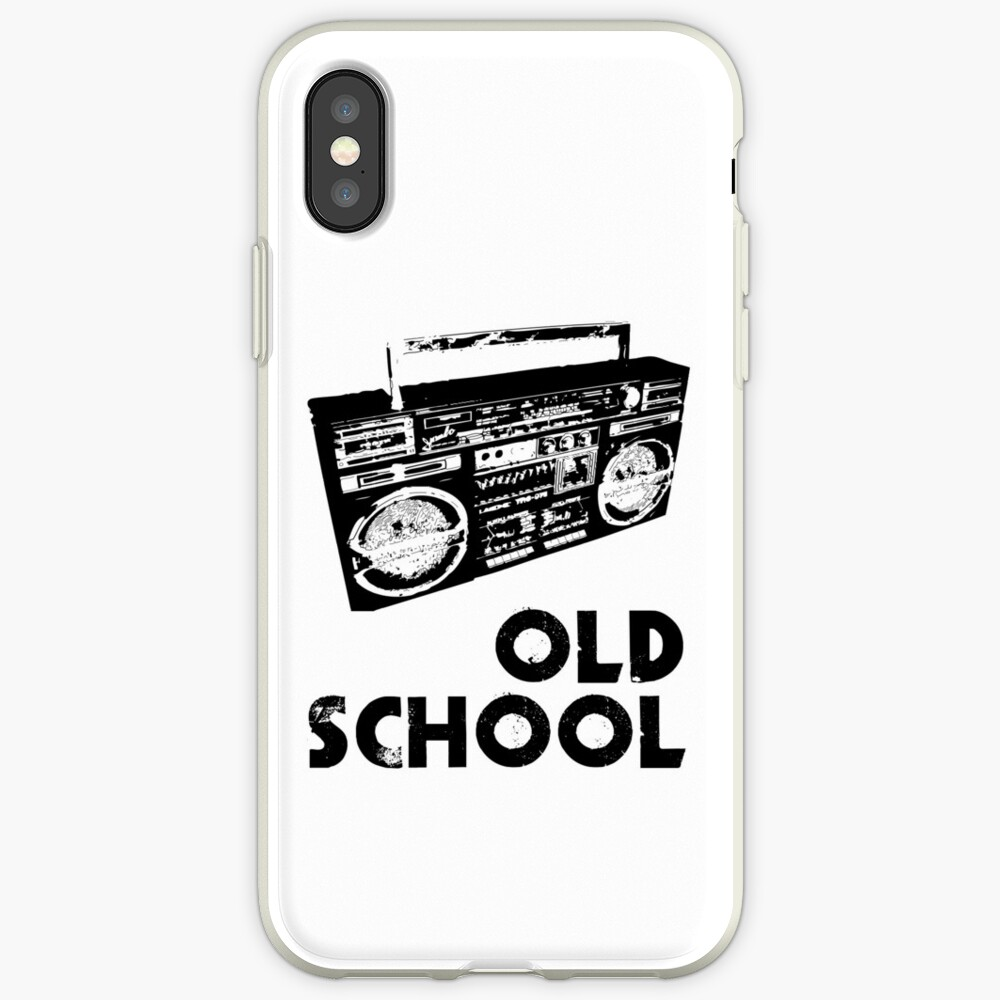 Old School - Boom Box  iPhone Case & Cover