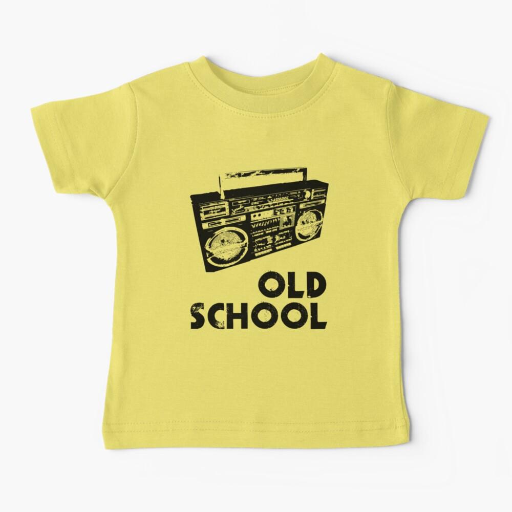 Old School - Boom Box  Baby T-Shirt