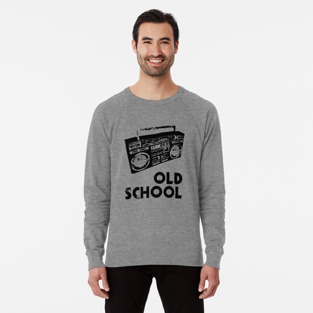 Old School - Boom Box  Lightweight Sweatshirt