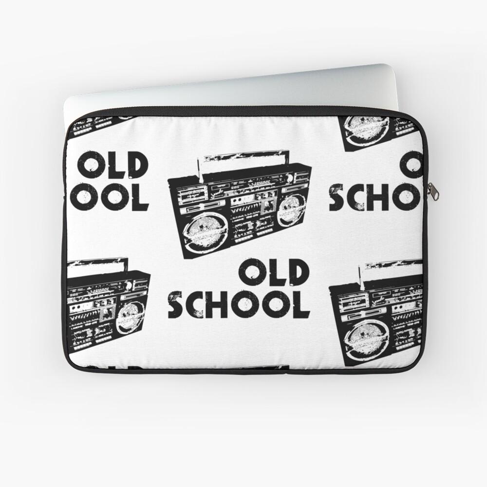 Old School - Boom Box  Laptop Sleeve
