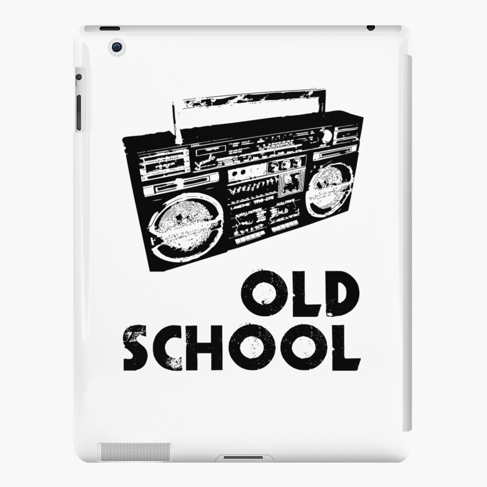 Old School - Boom Box  iPad Case & Skin