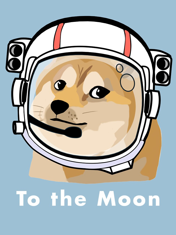 Doge to the moon by PopularTheory