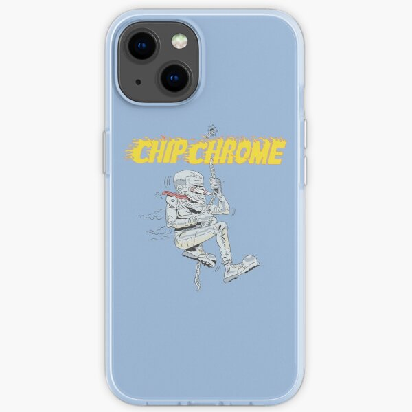 Chip Chrome and the Monotones iPhone Soft Case