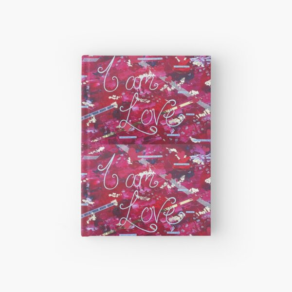 I am... Love Hardcover Journal