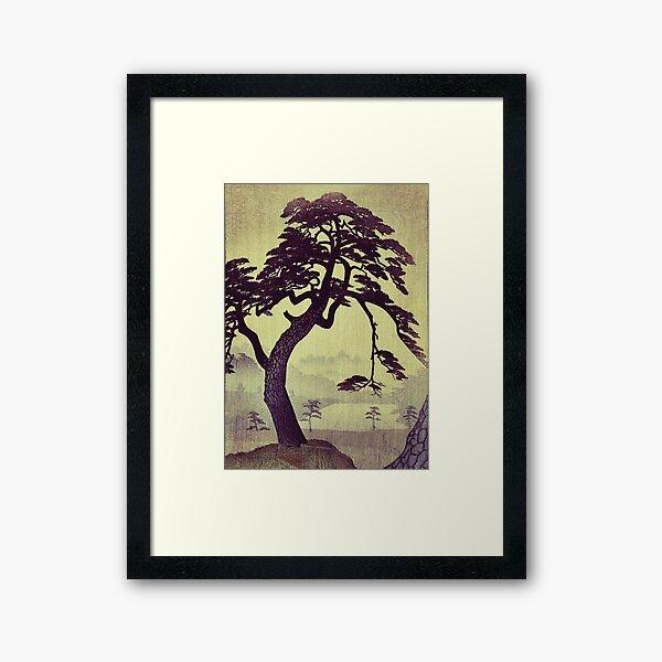 Old Man Standing Framed Art Print