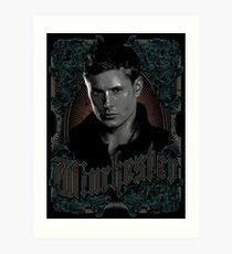 Winchester -  eldest brother Art Print