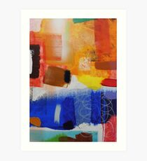 Well Spring- Print of Well Spring Painting by Jenny Meehan Art Print