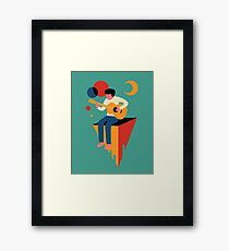 Peaceful solo Framed Print