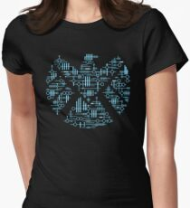 Alien Agents Women's Fitted T-Shirt