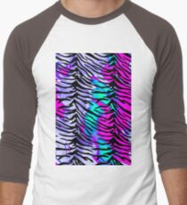 Tiger Stripes Purple, Blue and Pink T-Shirt