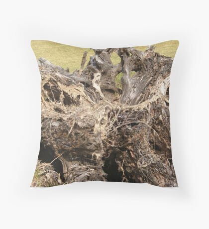 Roots of age Throw Pillow