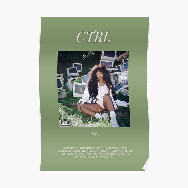 SZA CTRL Album Poster