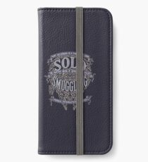 Solo Smuggling - Dark iPhone Wallet/Case/Skin