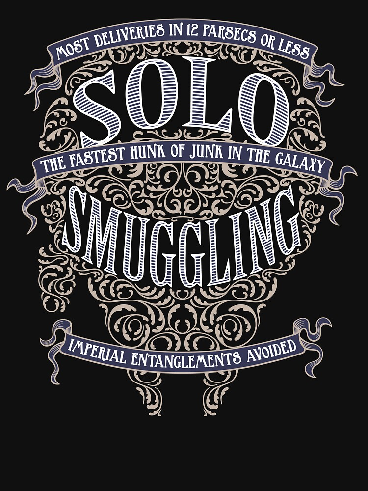 Solo Smuggling - Dark | Unisex T-Shirt