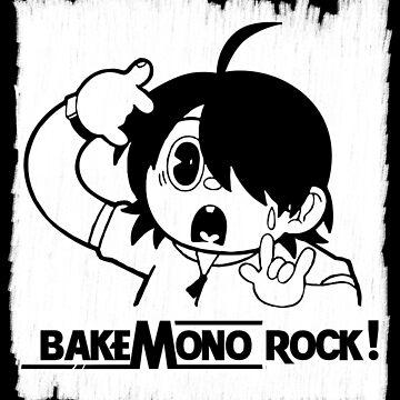 Araragi Koyomi Bakemonogatari Bakemono Rock! by SaverioOste
