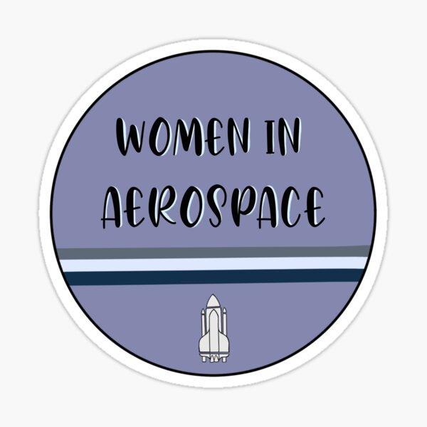 Women in Aerospace  Sticker