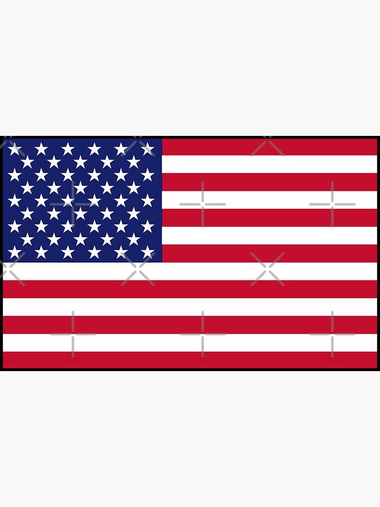 American flag by Smaragdas