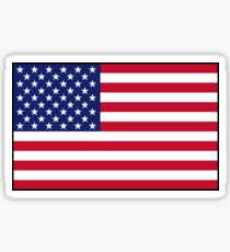 Pegatina bandera estadounidense
