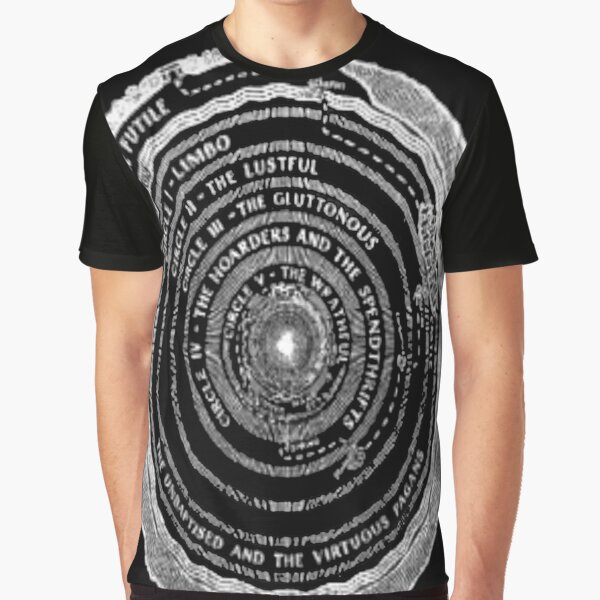 Dante: Upper Hell Graphic T-Shirt