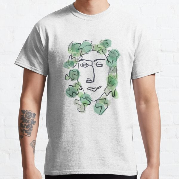 King of the Forest (Green Man) Classic T-Shirt