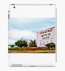 Vintage Drive-In Theater iPad Case/Skin