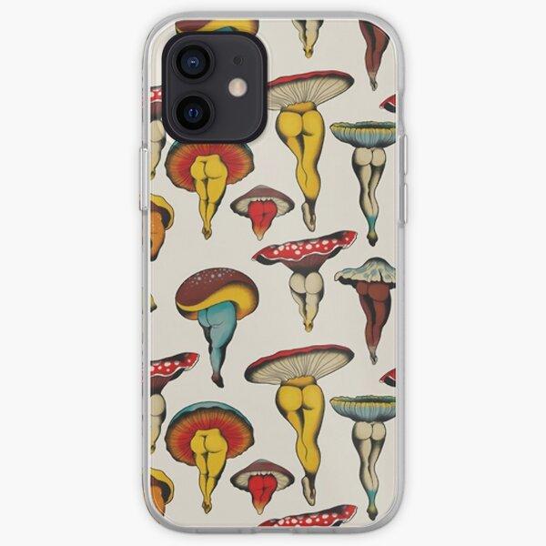 Mushrooms iPhone Soft Case