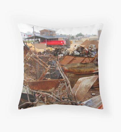 Old 'n new haulers Throw Pillow