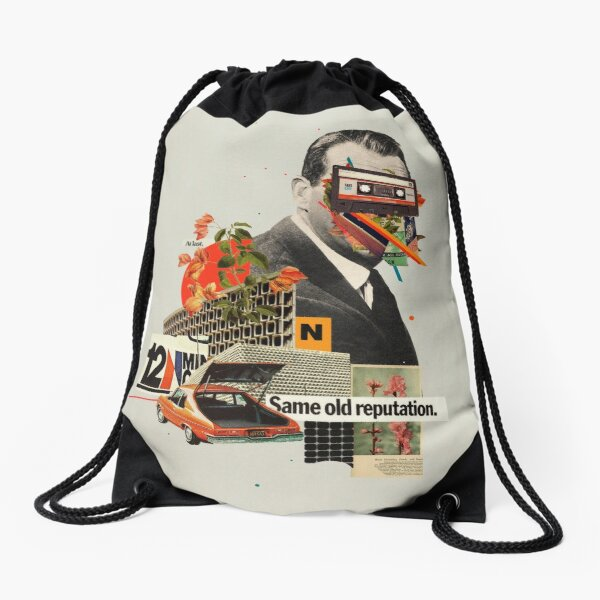 Same Old Reputation Drawstring Bag