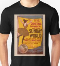 Artist Posters The New York Sunday World the great Christmas number 0966 T-Shirt