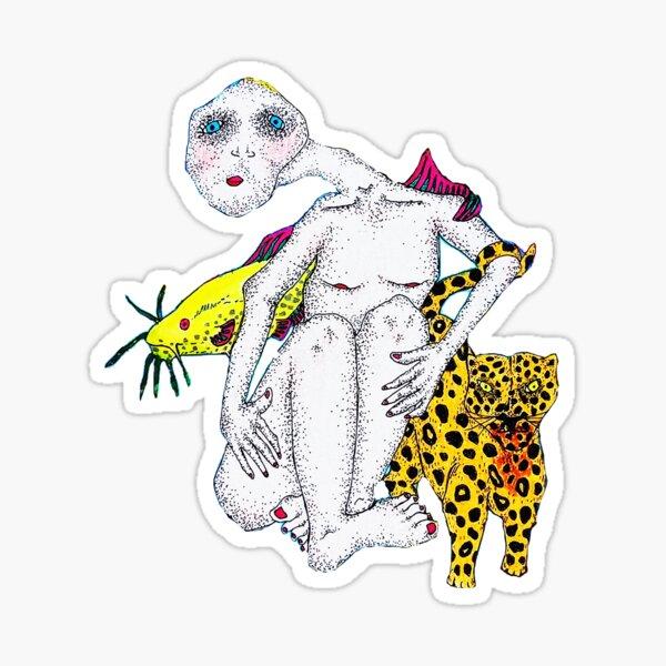still woozy lately ep Sticker