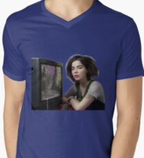 Bjork AESTETIC tv Men's V-Neck T-Shirt