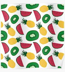Fruit Repeat Poster