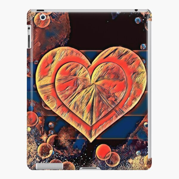 Love Warms The Heart iPad Snap Case