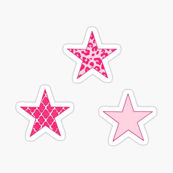 Pink Stars Sticker