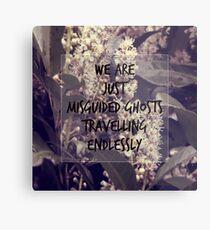 Misguided Ghosts Metal Print