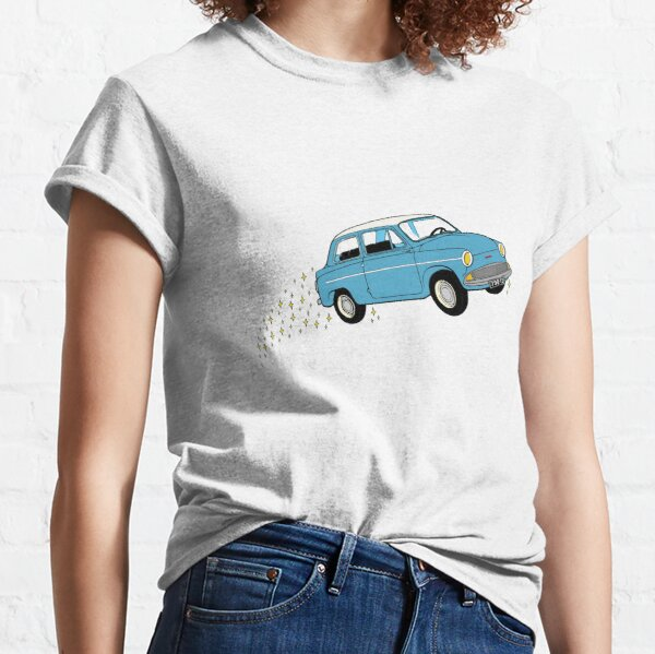 Harry Ford Anglia Flying Car  Classic T-Shirt