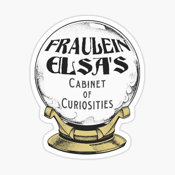Fraulein Elsa's Cabinet of Curiosities Sticker