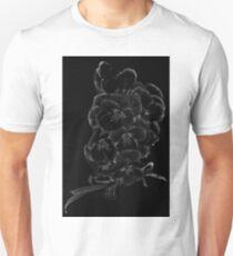 Midnite Pansies Unisex T-Shirt