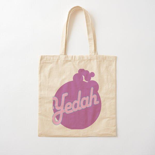 Yedah! Retro Style Cotton Tote Bag