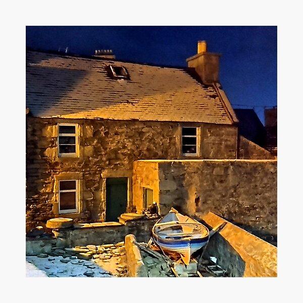 Shetland Lodberrie in winter Photographic Print