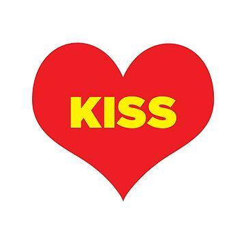 Kiss by jadn73