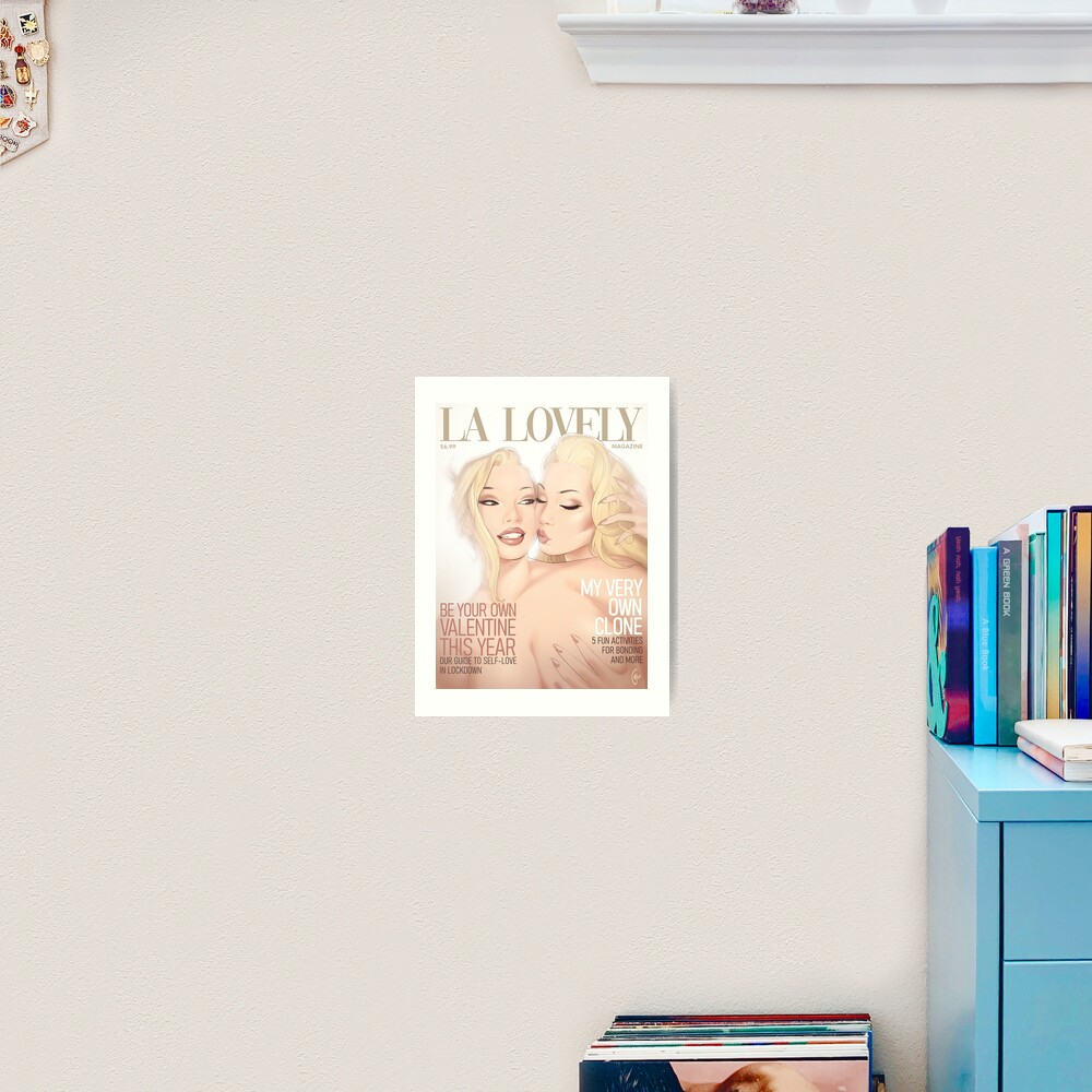 La Lovely - Self-Love Art Print