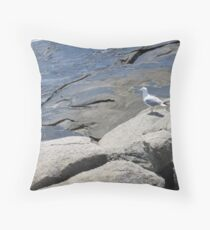 Loner Throw Pillow